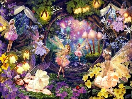 magic land wallpaper